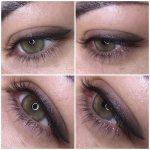 Как делается татуаж век – Татуаж стрелок на глазах: фото до и после. Как делают с растушевкой, нависшим веком. Последствия, сколько держится